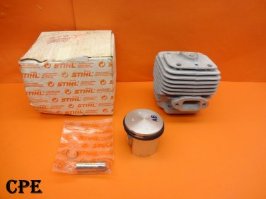 NEW GENUINE OEM STIHL 49MM CYLINDER WITH PISTON KIT 08S BT360 TS350 TS360 CUT-OFF SAW