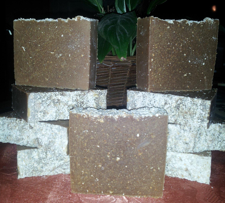 Sandalwood Honey Oatmeal & Goats Milk Soap