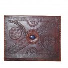 A-4 size Handmade Leather Journal for Poetry.