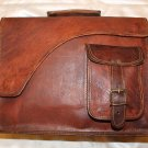 Flap Cut Messenger Leather Bag