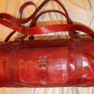 Buffalo Leather Duffle Bag / Sports Bag / Gym Bag / Cabin Travel Bag / Weekender Bag / Overnight Bag