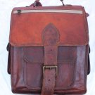Handmade Leather Satchel Messenger rucksack Bagpack.