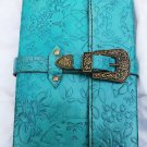 Real Leather handmade Sketchbook Scrapbook Notebook Diary Journal #19