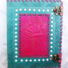 Real Leather handmade Sketchbook Scrapbook Notebook Diary Journal #25