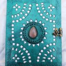 Real Leather handmade Sketchbook Scrapbook Notebook Diary Journal #30