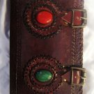 Real Leather handmade Sketchbook Scrapbook Notebook Diary Journal #39