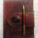 Real Leather handmade Sketchbook Scrapbook Notebook Diary Journal #41