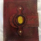 Real Leather handmade Sketchbook Scrapbook Notebook Diary Journal #43