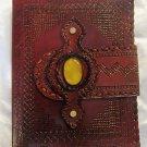 Real Leather handmade Sketchbook Scrapbook Notebook Diary Journal #43