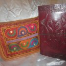 Combo Pack of leather journal and leather bag. For personal use and gifts. Pack #4