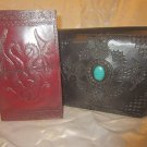 Combo Pack of leather journal and leather bag. For personal use and gifts. Pack #11