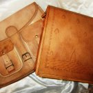 Combo pack of handmade Leather Satchel/Messenger/Cross body Unisex Bag. Pack #12