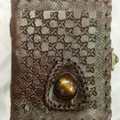 Real Leather handmade Sketchbook Scrapbook Notebook Diary Journal #48