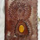 Real Leather handmade Sketchbook Scrapbook Notebook Diary Journal #54