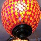 DECORATIVE LAMP/ Ceramic and glass Lamp/ Hanging lamp/ Ceiling Lamp/ Festival/ Christmas Lamp.#7