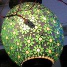 DECORATIVE LAMP/ Ceramic and glass Lamp/ Hanging lamp/ Ceiling Lamp/ Festival/ Christmas Lamp. #8