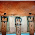 Handmade Goat Leather Messenger/College/office Satchel Bag.