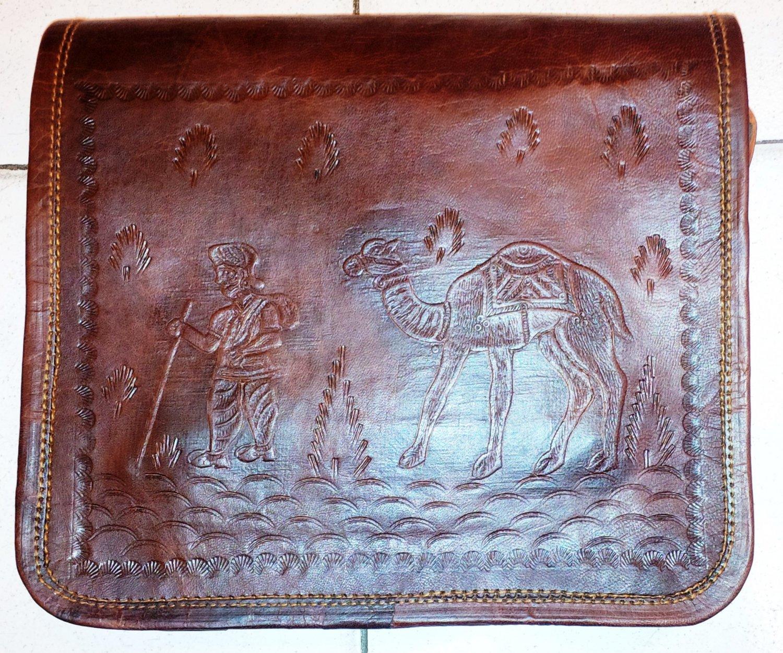 Full Flutter/flap Leather Messenger/satchel/laptop/ Bag for gifts.