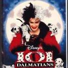 101 DALMATIANS Walt Disney's VHS Clamshell 786936018905