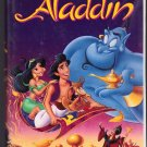 ALADDIN Walt Disney's Black Diamond Edition VHS Clamshell 717951662033