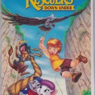 THE RESCUERS DOWN UNDER Disney's Classic VHS Clamshell Black Diamond Edition 717951142030