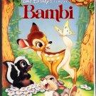 BAMBI Walt Disney's Classic VHS Clamshell Black Diamond Edition 012257942033