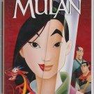 MULAN Disney Masterpiece VHS Clamshell 786936057867