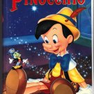 PINOCCHIO Walt Disney's Masterpiece VHS Clamshell 012257239034