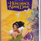 THE HUNCHBACK OF NOTRE DAME Walt Disney's Masterpiece Collection VHS Clamshell 7955