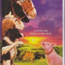 BABE (1) Family Farm Movie about a pig VHS Clamshell 096898245333