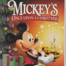 MICKEY'S ONCE UPON A CHRISTMAS Disney Gold Collection VHS Clamshell 786936134094
