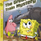 Sponge Bob Square Pants GREAT TRAIN MYSTERY - PB Ready To Read Level 2 (Acceptable / Readers)