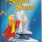THE SWORD IN THE STONE Walt Disney's Black Diamond Edition VHS Clamshell 012257229035