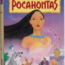 POCAHONTAS Walt Disney's Masterpiece Collection VHS Clamshell