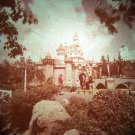 Disneyland 35mm SLEEPING BEAUTY CASTLE Souvenir Slide PANA-VUE (Vintage) VP508A
