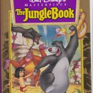 THE JUNGLE BOOK Walt Disney's 30th Anniversary Edition Masterpiece Collection VHS Clamshell