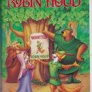 ROBIN HOOD Walt Disney's Black Diamond Edition VHS Clamshell 717951189035