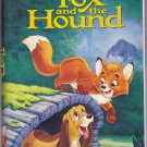 THE FOX AND THE HOUND Walt Disney's Black Diamond Edition VHS Clamshell 765362041039