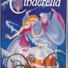 CINDERELLA Walt Disney's Black Diamond Edition VHS Clamshell 1225741003
