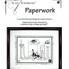 Calico Crossroads PAPERWORK Kats By Kelly Cross-Stitch Pattern FREE SHIPPING