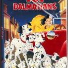 New/Sealed - 101 DALMATIANS (Animated) Walt Disney's Black Diamond Edition VHS Clamshell