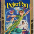 PETER PAN Disney VHS Clamshell Masterpiece Collection 786936057713