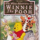 MANY ADVENTURES OF WINNIE THE POOH VHS Clamshell 786936001921