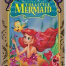 THE LITTLE MERMAID Disney Masterpiece VHS Clamshell 786936057720 (TESTED)