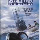 FREE WILLY 3 The Rescue - VHS Clamshell 085391489535