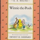 WINNIE-THE-POOH By A. A. Milne (PB) 0140361219 (Acceptable/Readers)