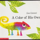 A COLOR OF HIS OWN By Leo Lionni (PB) 0590482793 (Good/Gently Used)