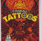 NEW - TRIBAL TATTOOS 35 Assorted Temporary Tattoos