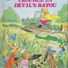 Disney's World Of Reading THE RESCUERS IN TROUBLE IN DEVIL'S BAYOU (HC) (Like New)