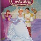 Disney's World Of Reading CINDERELLA 3 TWIST IN TIME (HC) 9780545086264 (Like New)